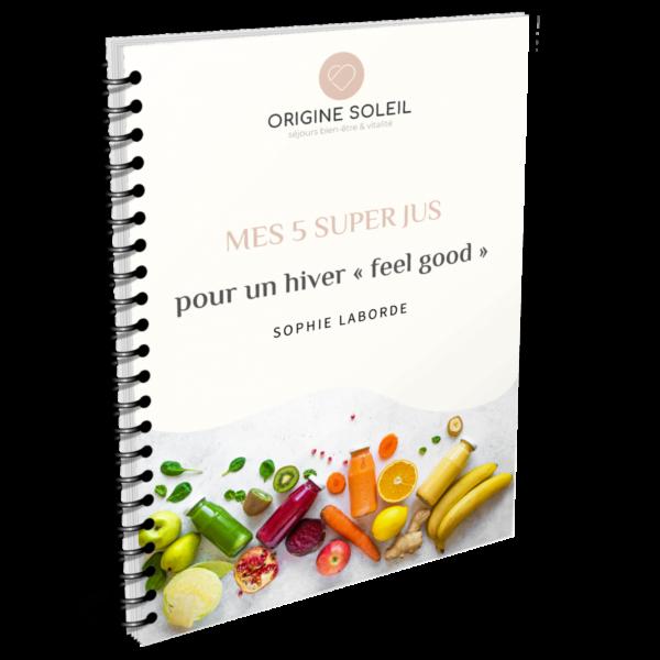 recette jus detox gratuits - Origine Soleil